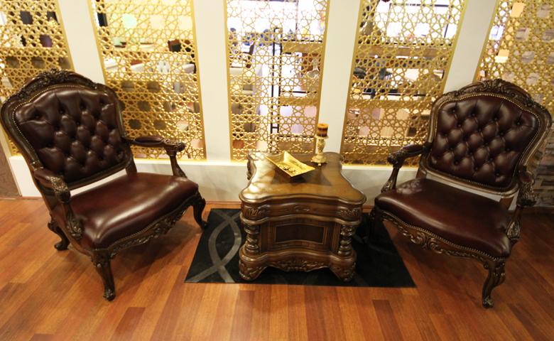 Klasik deri makam odası