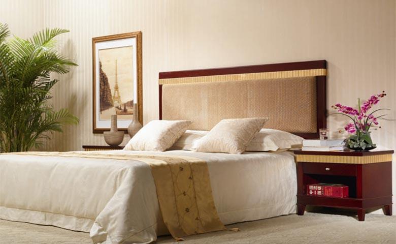 otel odası yatak tasarımları