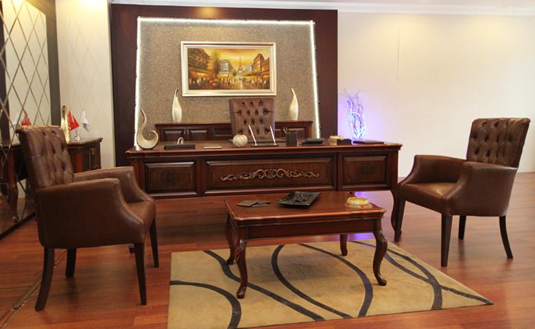 rustik ofis mobilyası