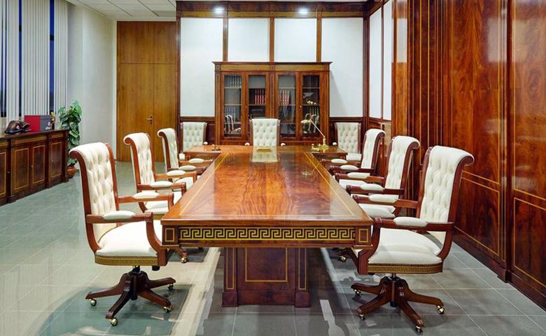 klasik çalışma odası