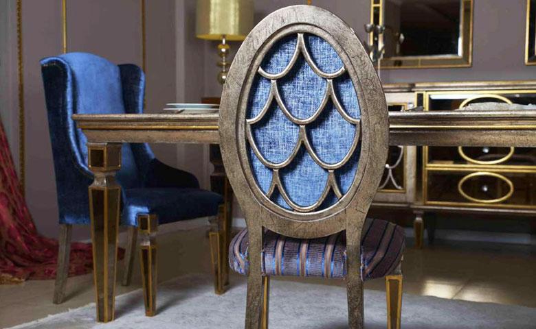 Klasik yemek odası sandalye
