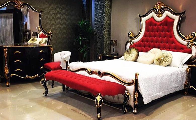 en güzel klasik yatak odası