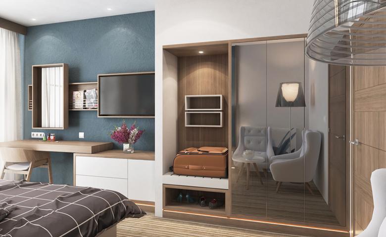 otel odası modeli