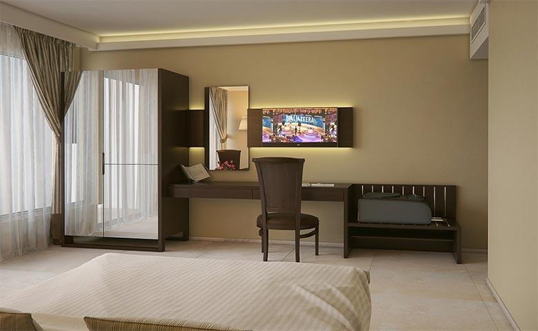 lüks otel odası takımı