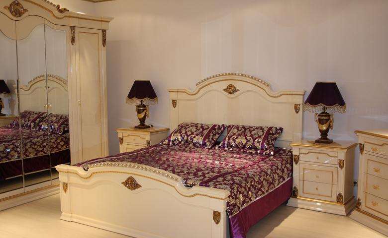 beyaz lake yatak odası