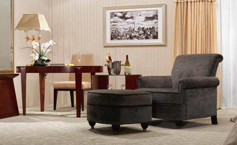 asortie otel odası dekorasyonu