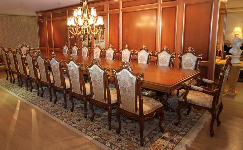 Klasik toplantı odası masası