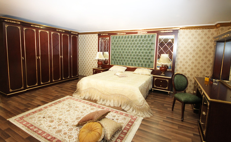 klasik yatak odası tasarımı