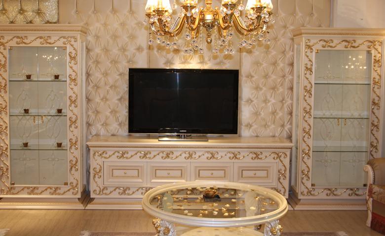 beyaz tv ünitesi