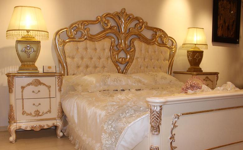 klasik yatak odası tasarımları