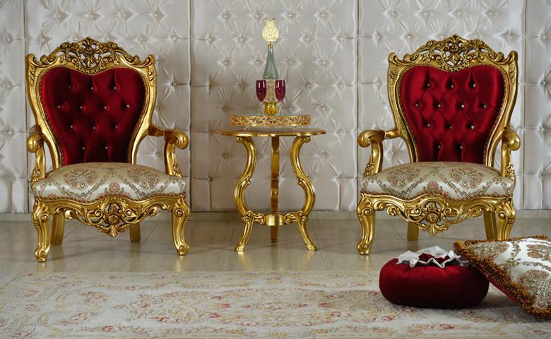 antik klasik koltuk takımı