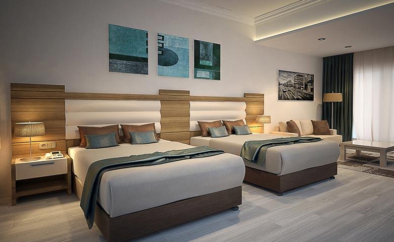 otal odası çiftli yatak