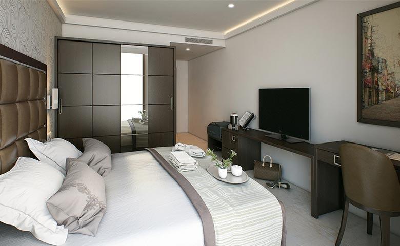 otel odası mobilyası
