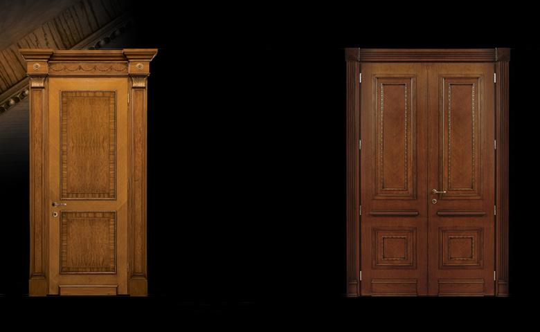 doğal ahşap kapı