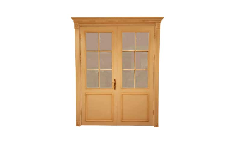 klasik camlı kapı
