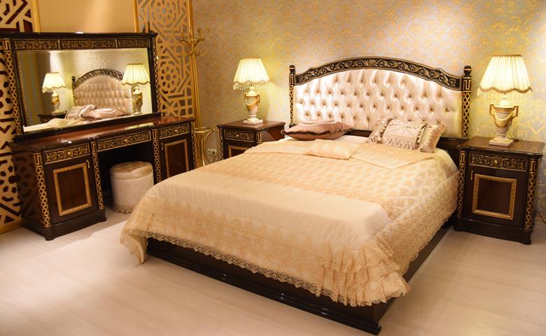 doğal ahşap klasik yatak odası