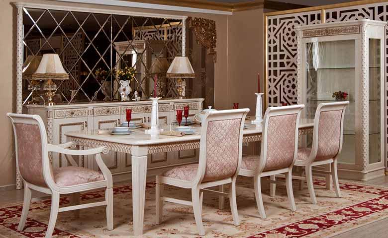 asortie klasik yemek odası