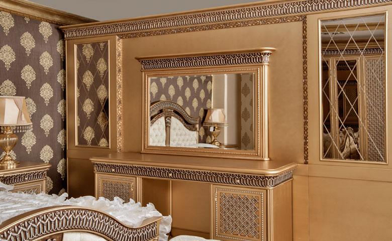 klasi yatak odası tuvalet masası