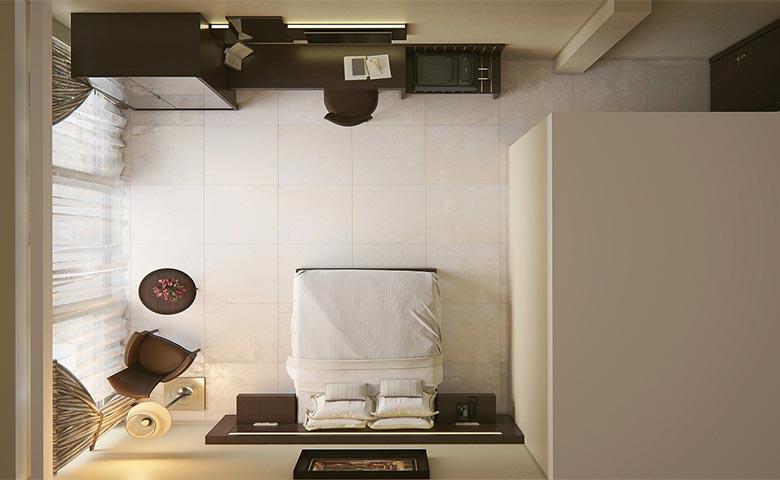 klasik otel odası