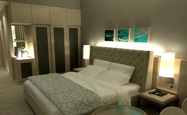 elena otel odası dekoru