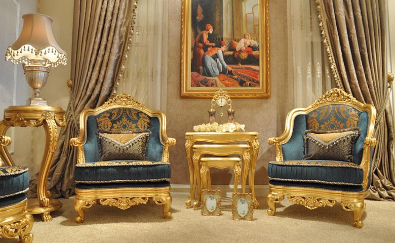 Klasik koltuk takımı