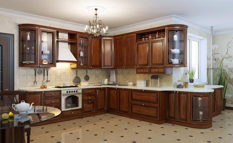 klasik mutfak tasarımları