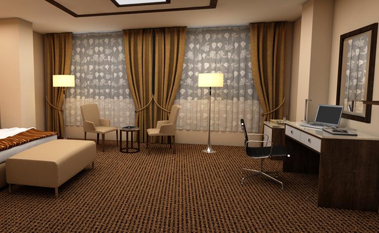 asortie otel odası takımı