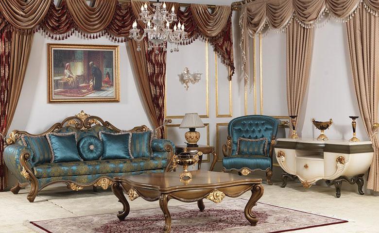Klasik koltuk takımı resimleri