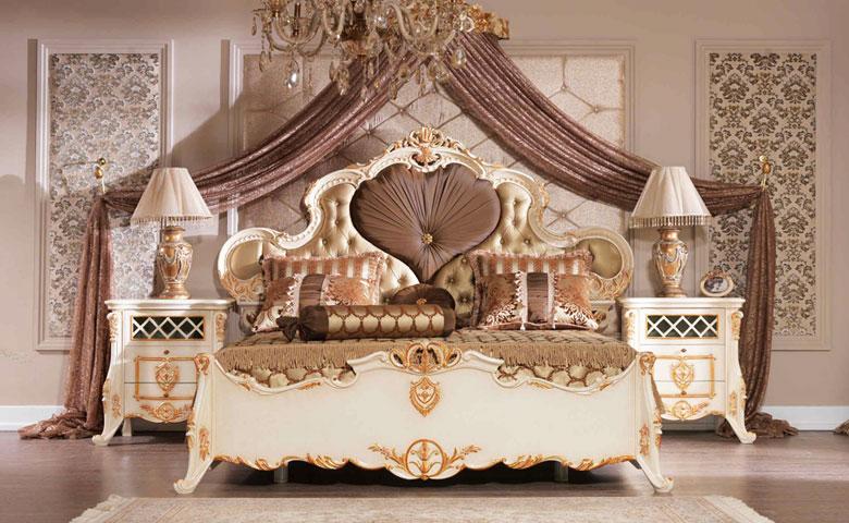 Klasik yatak odası karyola başlık