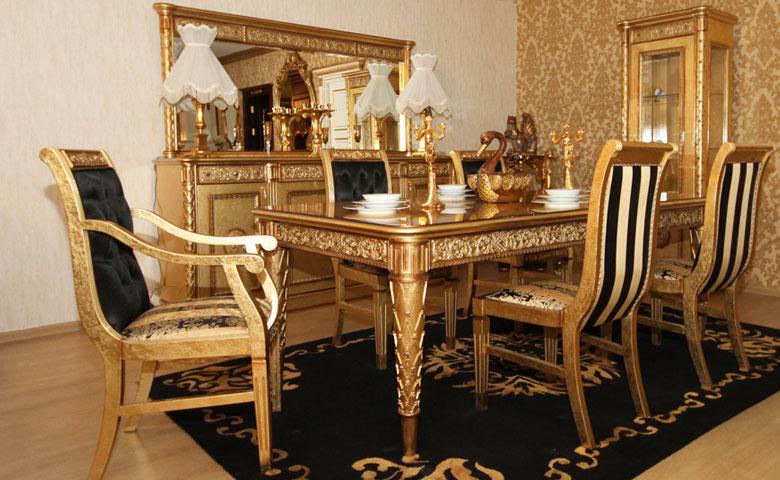 Klasik yemek odası modeli