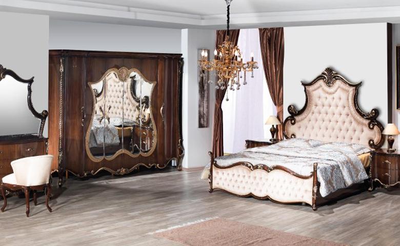 taclı klasi yatak odası