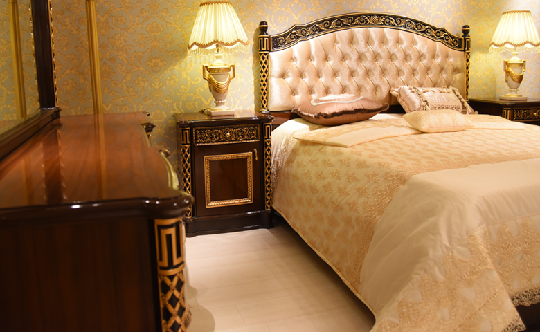 klasik yatak odası yatak