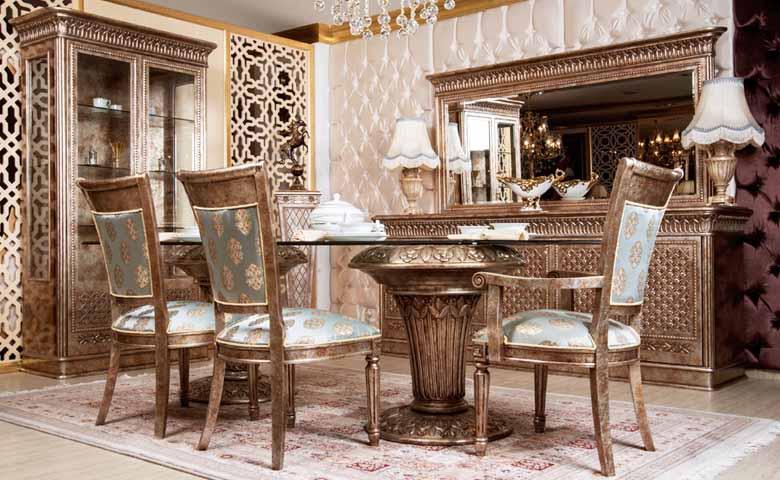 en güzel klasik yemek odası