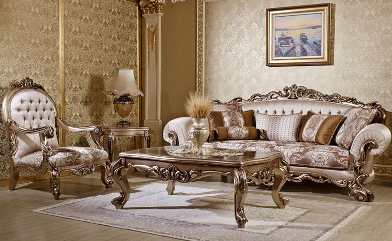 oturma odası klasik koltuk