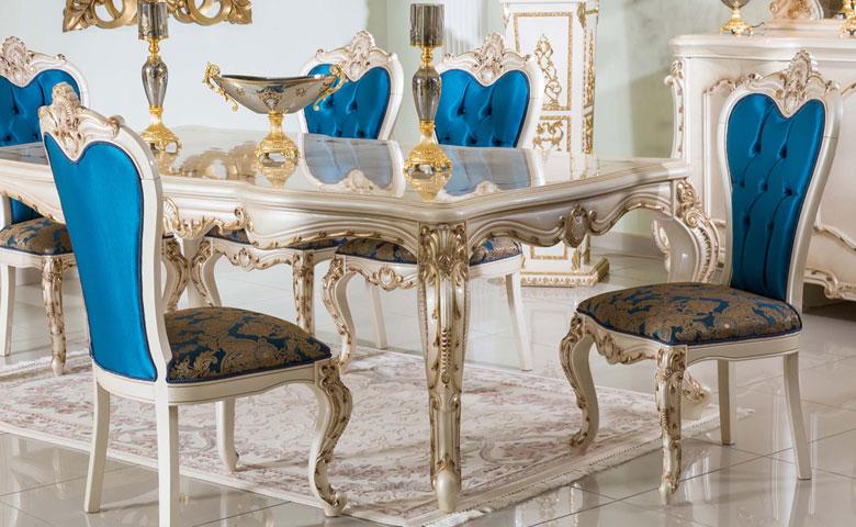 Klasik yatak odası takımı masa