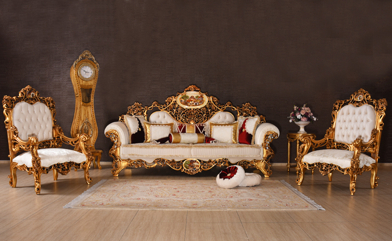 pentürlü klasik mobilya