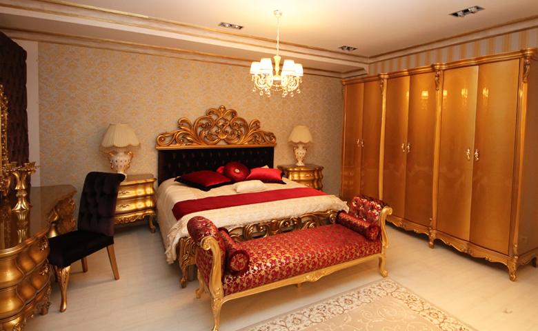 klasik yatak odası benç