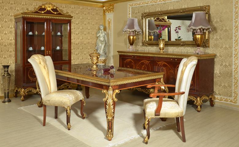 klasik yemek odası örnekleri