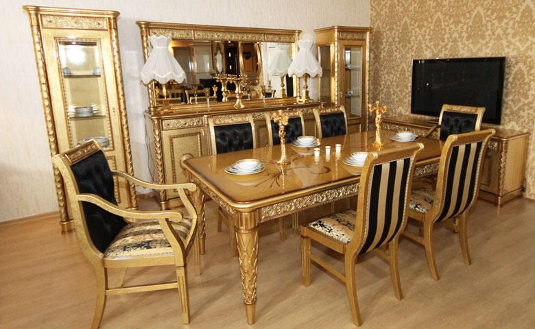 Klasik yemek odası takımı