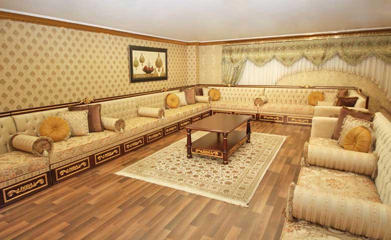 Doha Salon Arabe - Meubles de Luxe - Ensemble de Canapé Long
