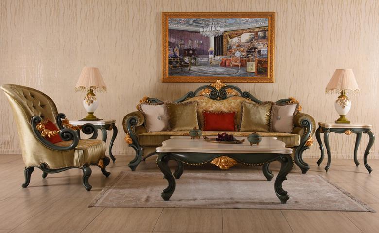 Antik Classic Sofa Set Sofa Models Luxury Living Room Set
