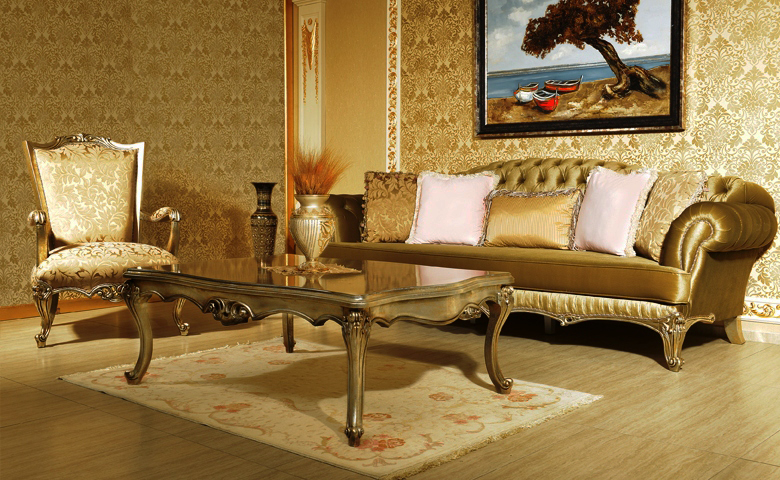 Arya Chester Sofa Set Luxury Classic Sofa Set Models