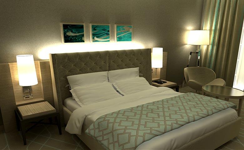 elena otel odası tasarımları