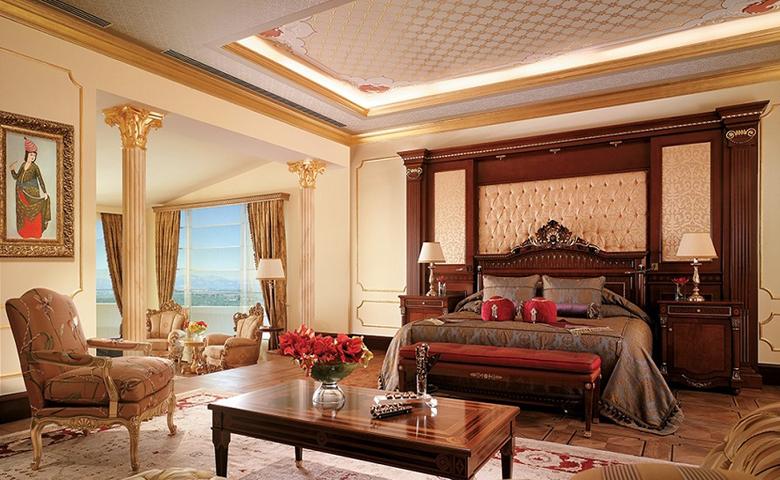 klasik otel odası mobilyası