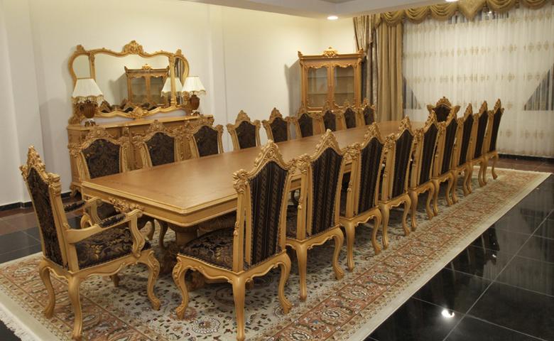 ... Karmen Long Dining Room Set. Klasik Yemek Masası Modelleri