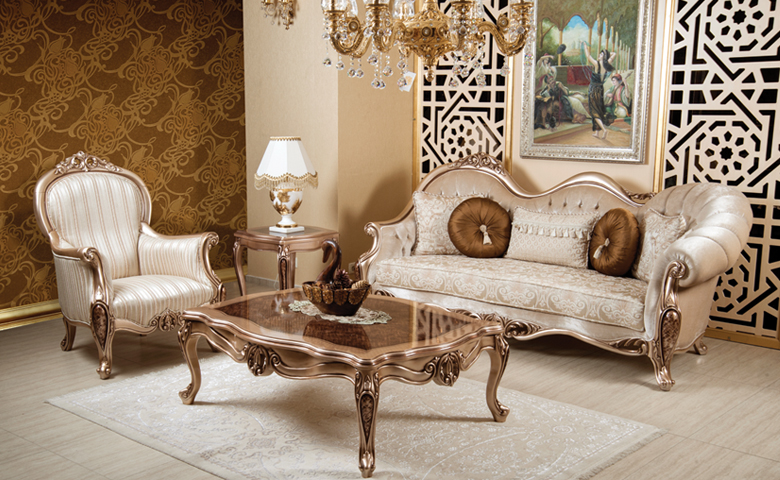 Classic Sofa Set - Sofa Models - Luxury Living Room Set, Bergere