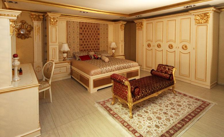 klasik yatak odası