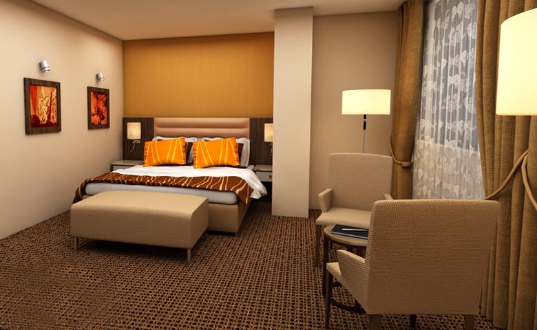 rahat otel odası