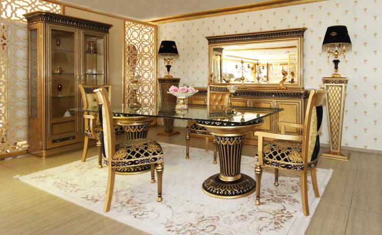 Klasik yemek odası modeli izmir