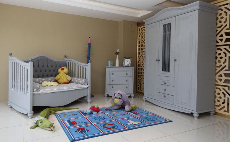 İstanbul klasik bebek odası takımı